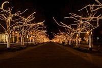 Подключение освещения зданий в Аксае